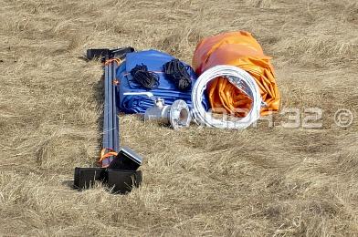 Резервуар секционный РС-30 в разобранном виде